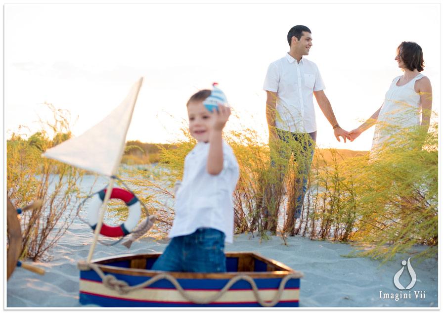 sedinta foto copii la mare