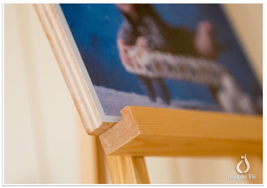 poze pe lemn