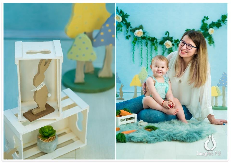 sedinta foto copii de paste Mama si fiica