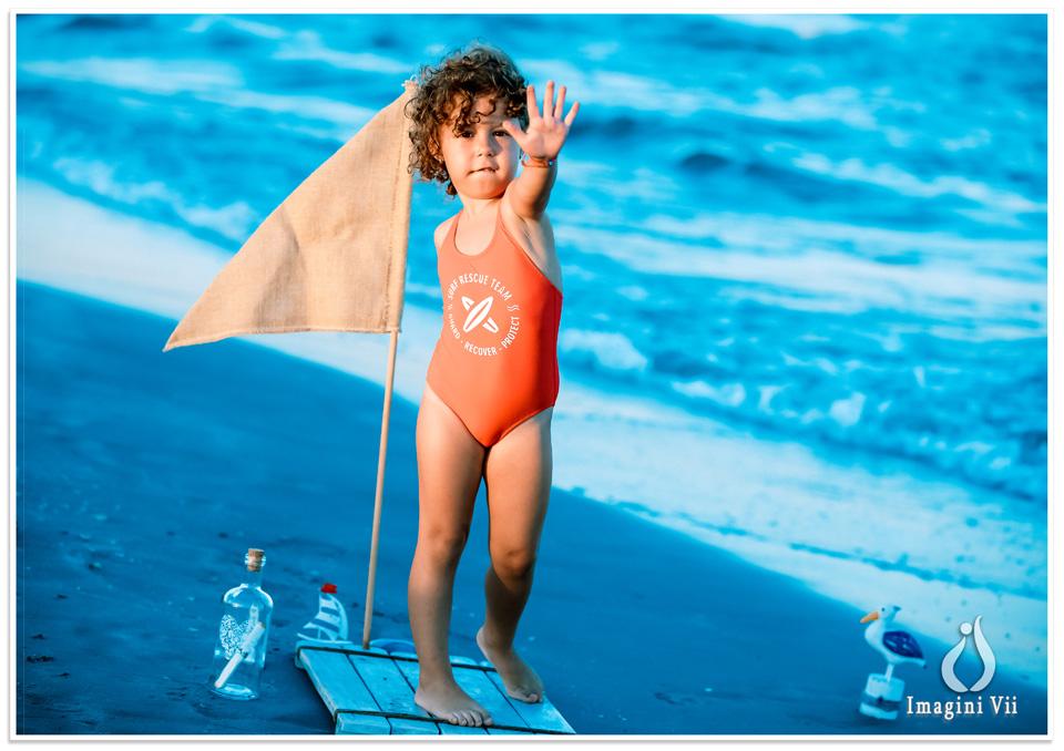 sedinte foto copii la mare